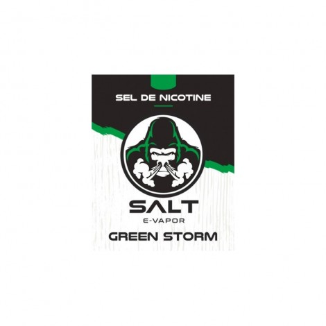 GREEN STORM / 6PCS - SALT E VAPOR