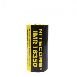 Batterie Nitecore 18350 IMR Efest OLD SCHOOL