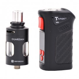 Box Target Mini et Clearomiseur Guardian Vaporesso