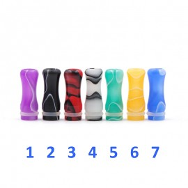 Drip Tip 510 Plastique Regular Versicolor