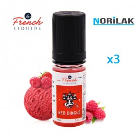 Le French Liquide Red Dingue (3x10ml)