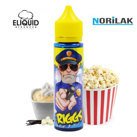 Eliquid France Cop Juice Riggs (50ml) Eliquid France Cop Juice