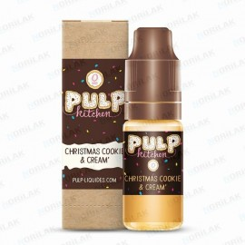 Pulp Kitchen Christmas Cookie & Cream Pulp E-liquide Pulp Kitchen